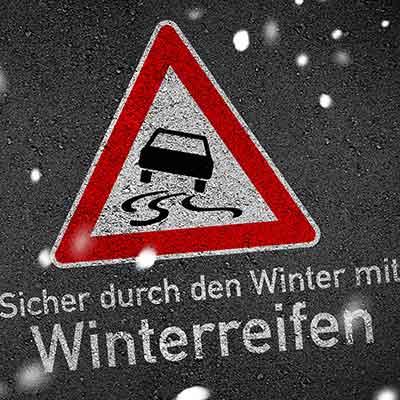 Sicher durch den Winter mit Winterreifen